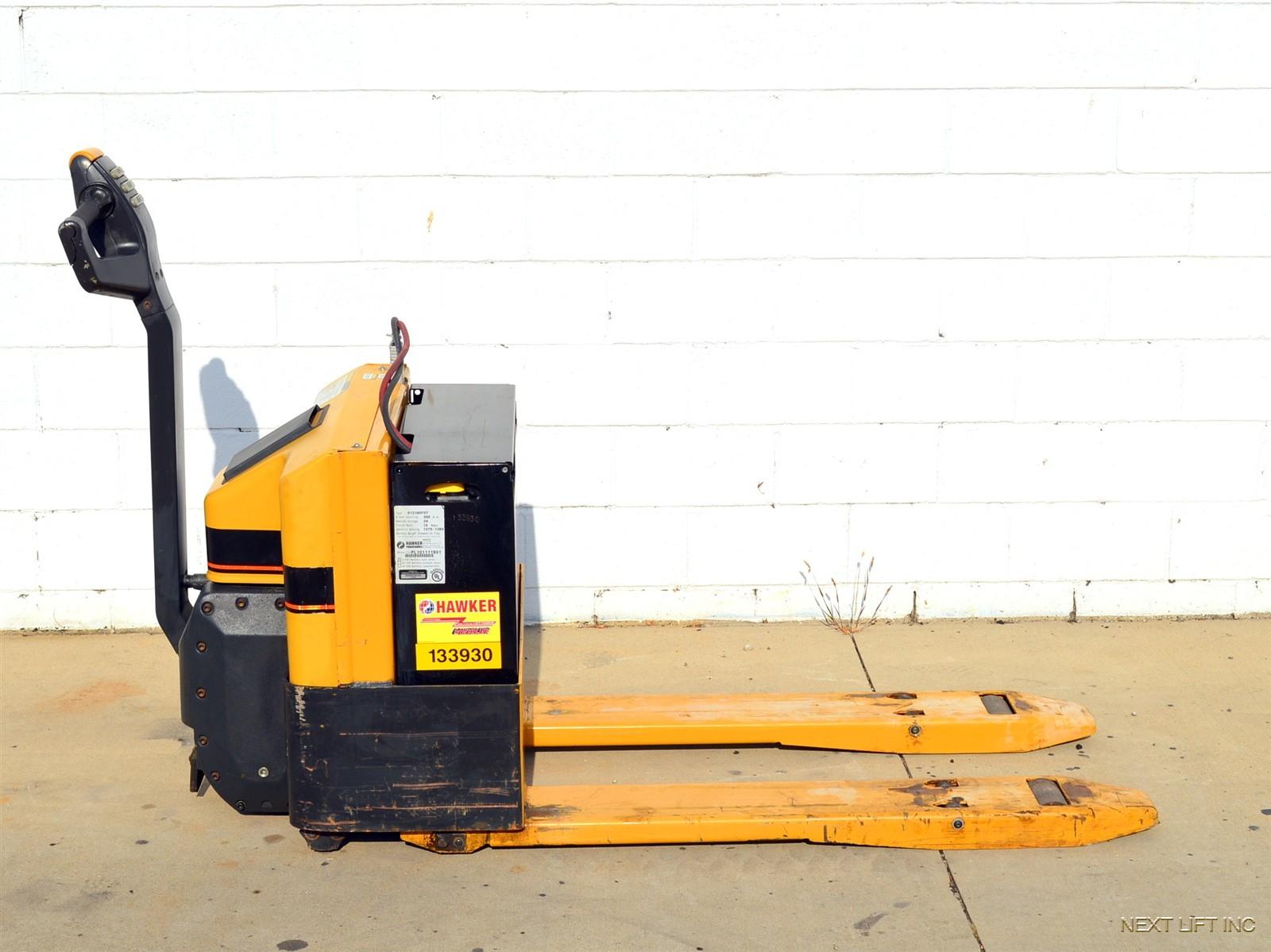 Nice Cat 4000 Lb 24v Electric Pallet Jack Walkie Truck