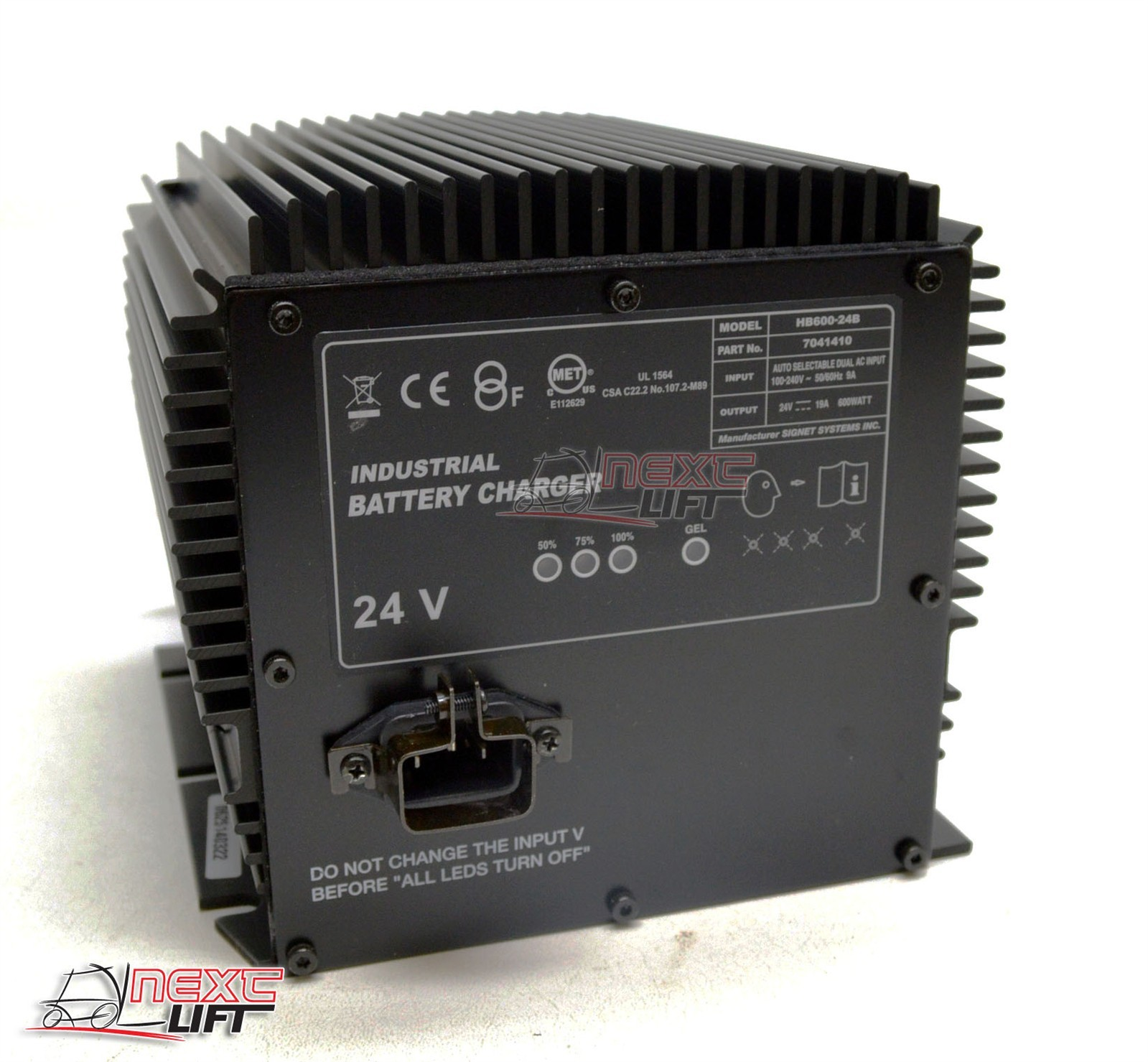 Details about NEW GENIE GS-2646 SCISSOR LIFT 24V BATTERY CHARGER AERIAL  BOOM GS2646