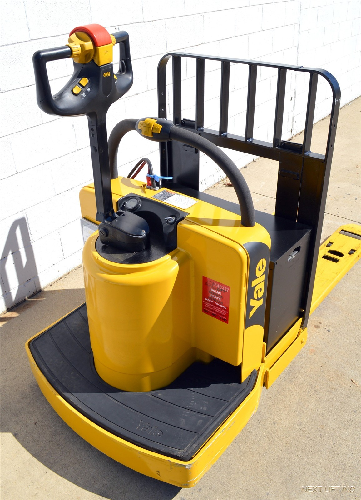 YALE MPE060 6000 LB ELECTRIC PALLET JACK WALKIE END RIDER ...